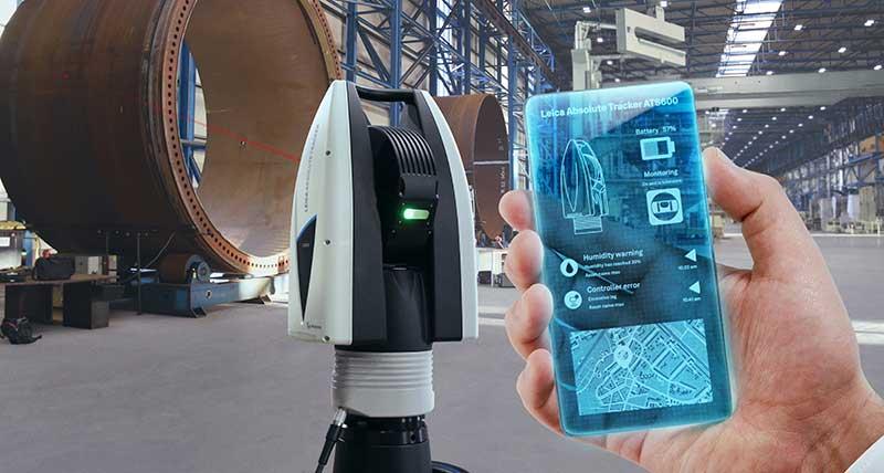 Hexagon'un doğrudan taramalı lazer takip cihazları artık daha verimli ve daha kullanışlı