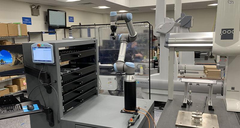Hexagon, Alloy Specialties'ın üretim kapasitesini ''ışıkları azaltma'' robotik kalite denetimi ile artırmasına yardımcı oluyor