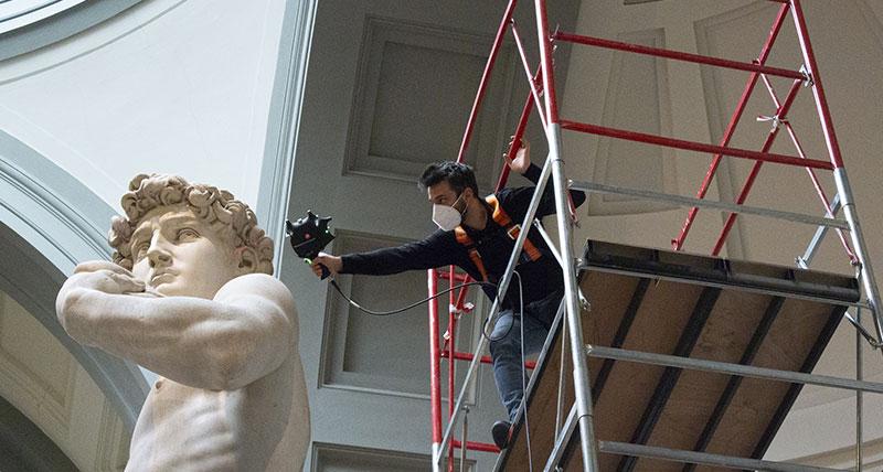 Hexagon, Michelangelo'nun ''Davut'' eserinin mükemmel bir kopyasını Expo 2020 Dubai'ye getirecek.