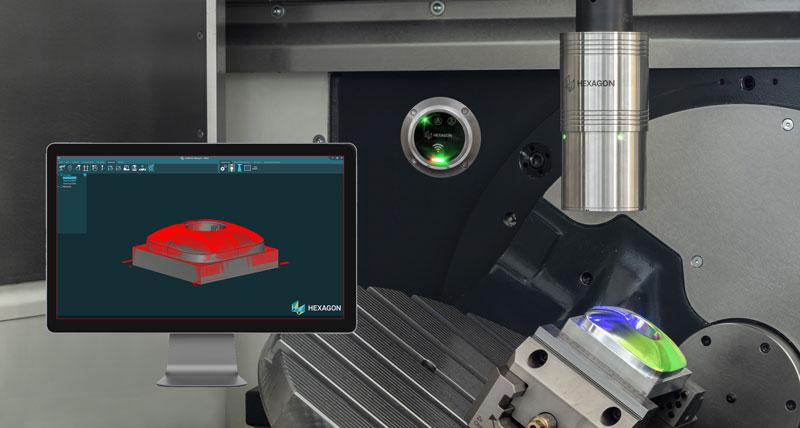 Dünyanın ilk kablosuz lazer tarayıcısı, CNC makinelerindeki parçaları ölçmek için, parça inceleme ve hizalama darboğazlarını ortadan kaldırıyor.